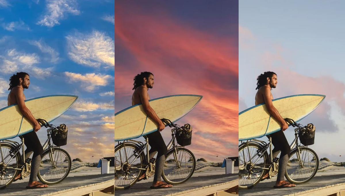 """距离网红美照只差一片漂亮天空?Adobe推出""""天空替换""""工具,透过AI技术替换天空!"""