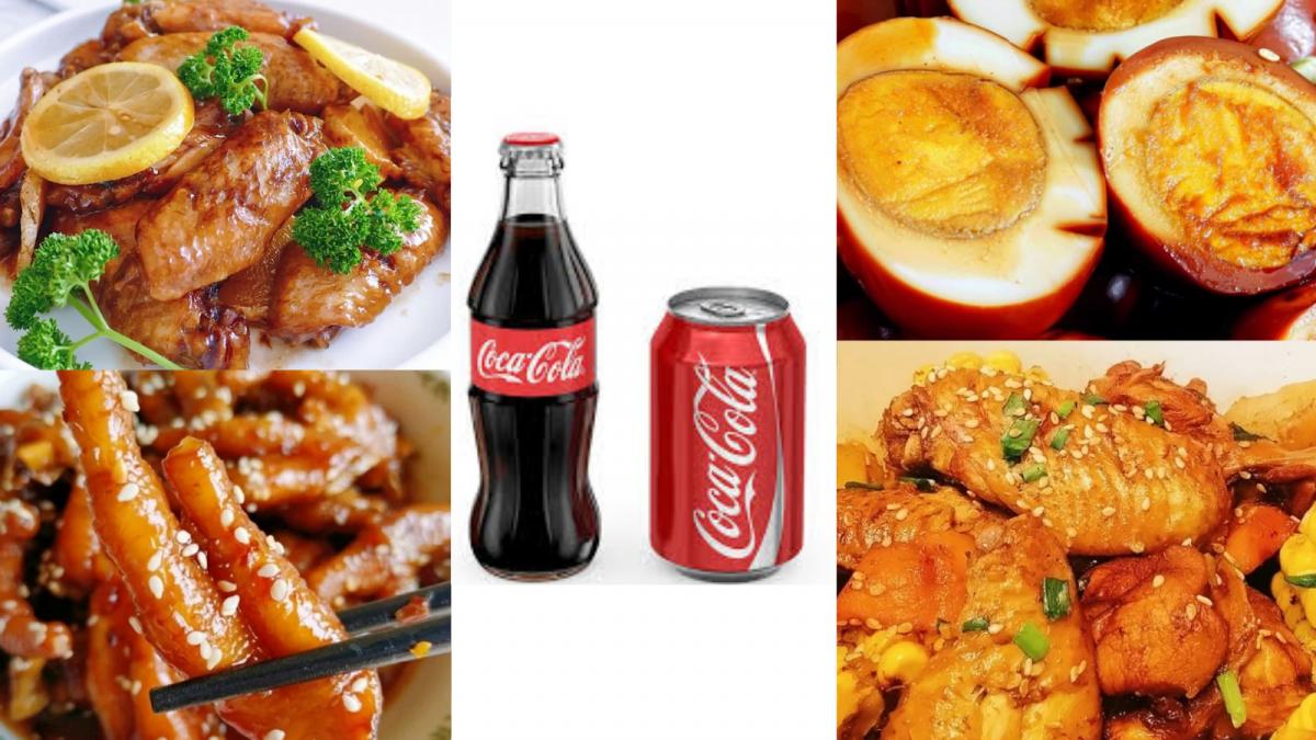 【1瓶COKE可制作的8种料理】好吃到舔手指,配饭吃绝对一流!