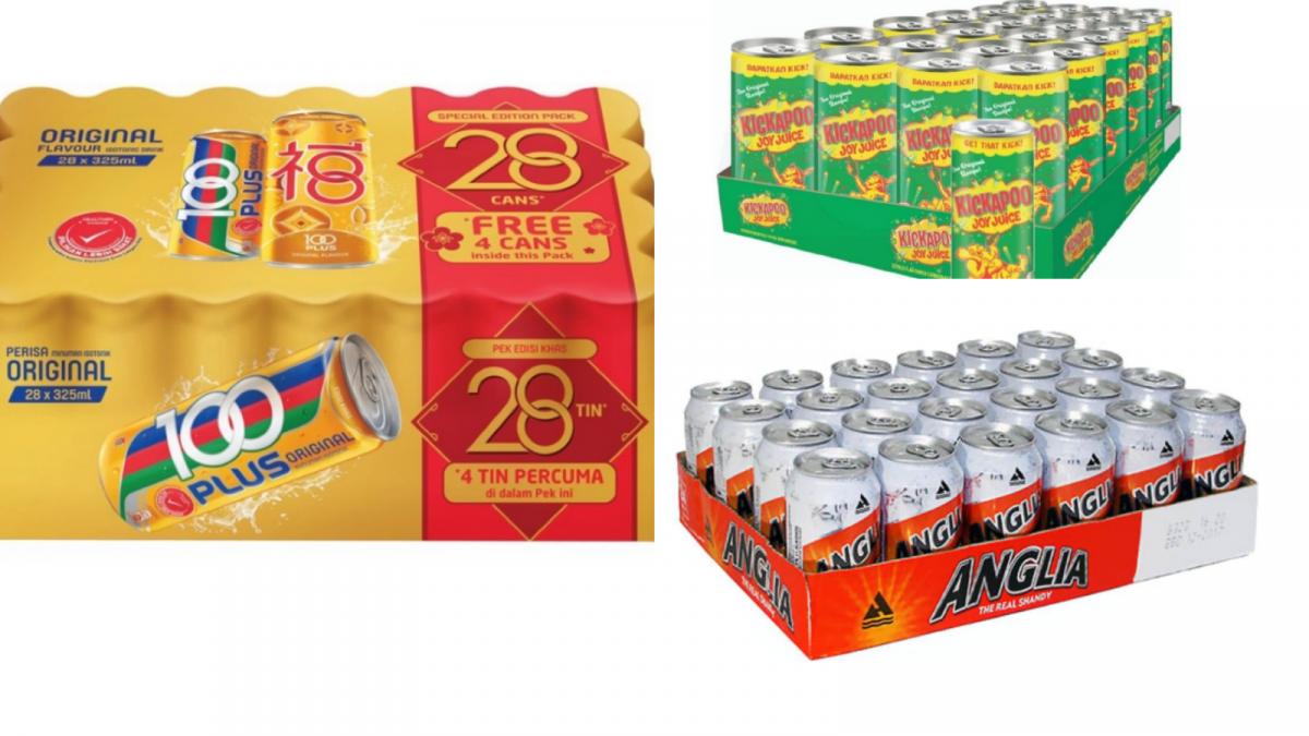 6种大马人过年最爱喝的汽水&饮料!内附各大超市价钱!