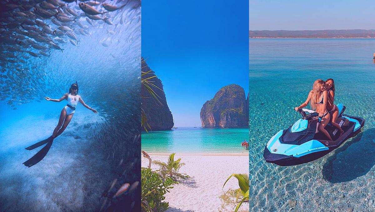5个到海边必体验的超刺激水上活动!投入大海怀抱,这个夏天最辣就是你!