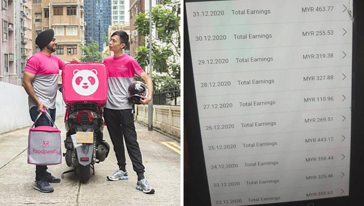 FoodPanda送餐员工作725小时!公开2个月薪资,网民惊讶不已!