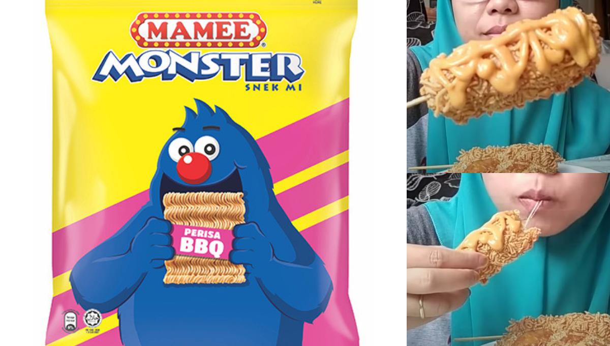 公开风靡全网的Mamee Monster香肠玉米棒做法!外酥内软还有超邪恶的拉丝!