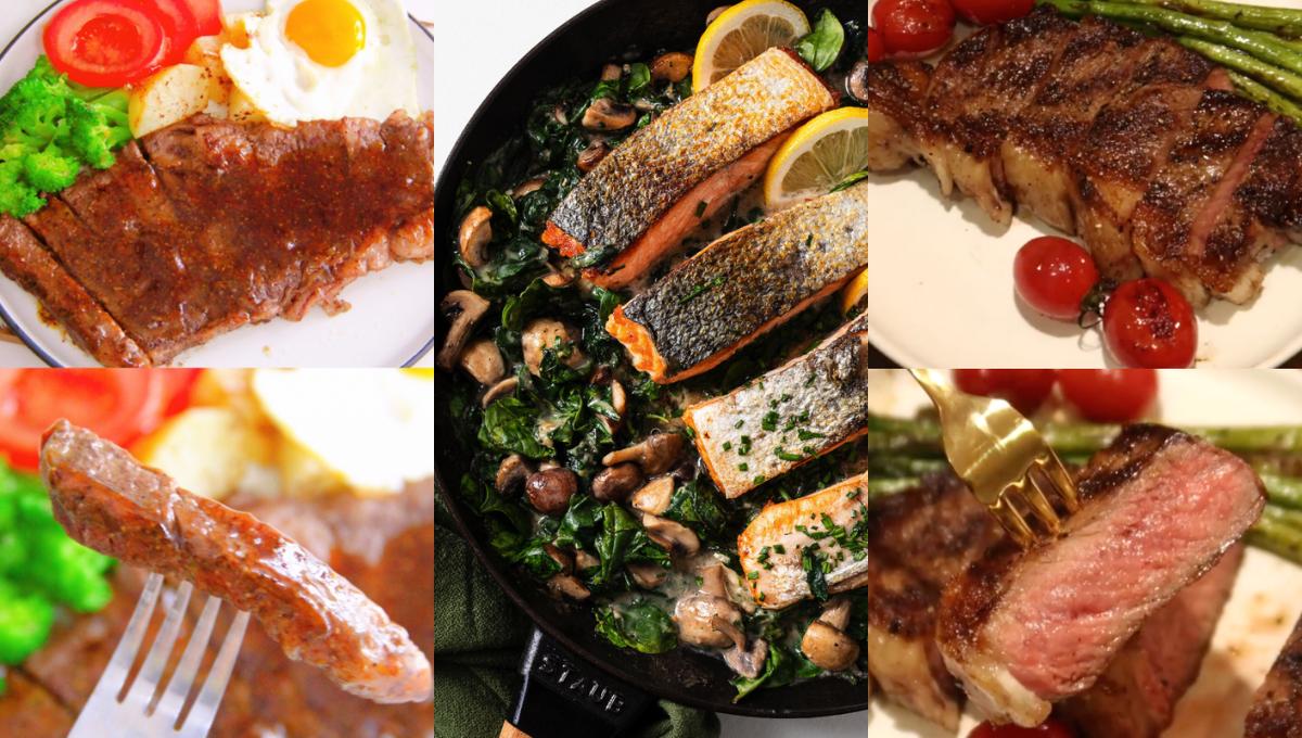 【8款扒类西餐的做法】外焦里嫩口感Juicy,瞬间秒杀餐厅!