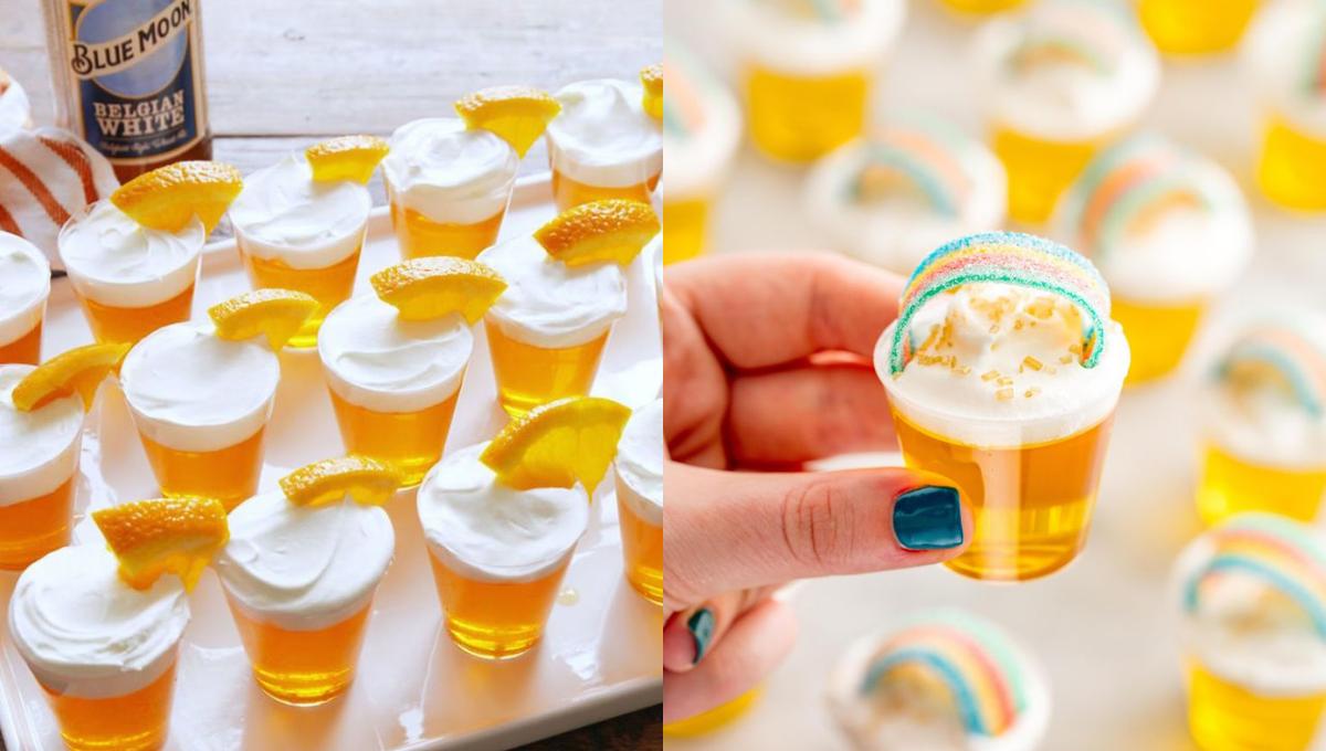 公开啤酒果冻杯和Pot o' Gold Shots的做法!容易上手,颜值高到红爆网络!