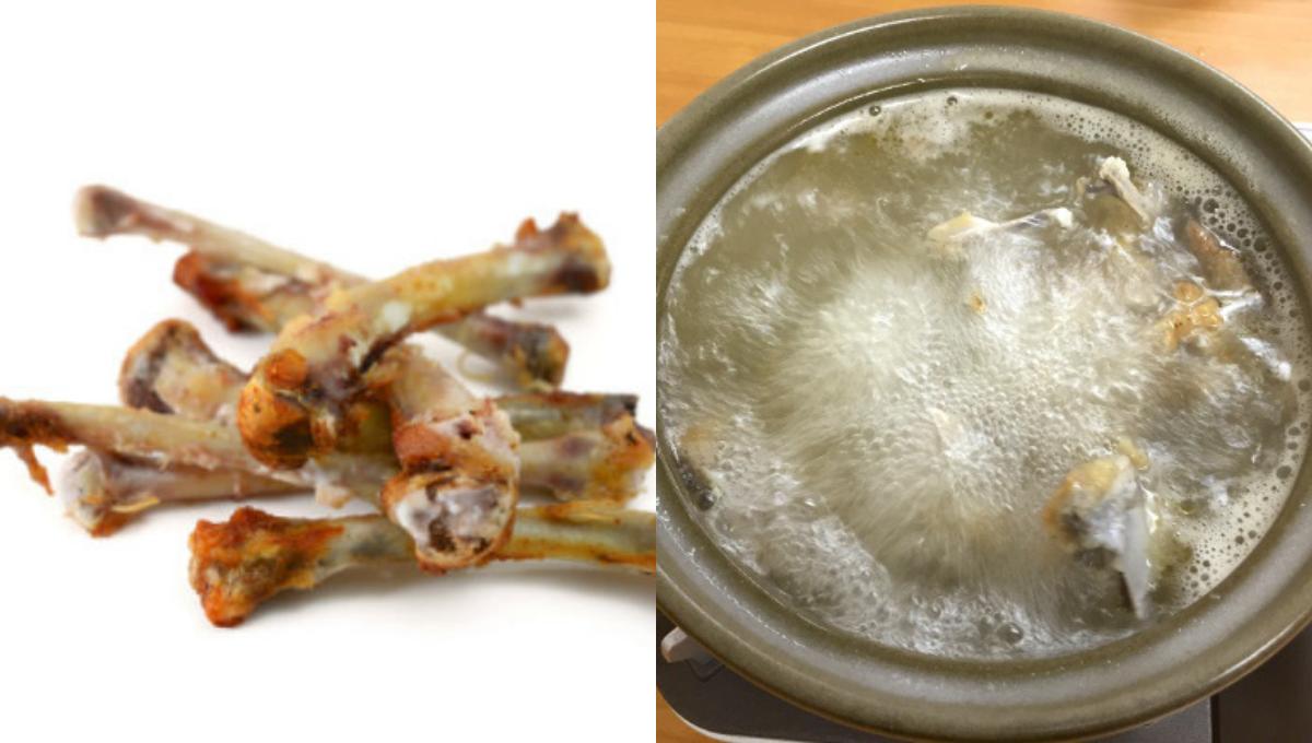 """吃KFC剩下的骨头不要扔!拿来制作KFC鸡汤味道""""好吃到飞起""""!"""