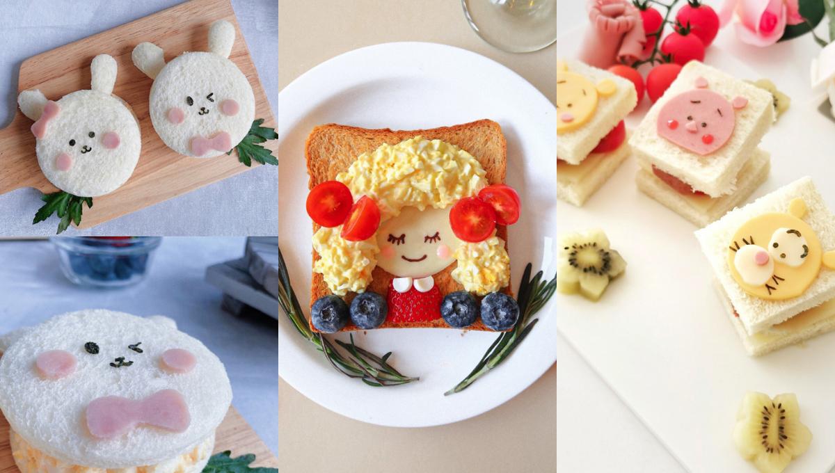 【8款Gardenia面包的三明治做法】儿童大人都爱,料多营养好吃到爆!