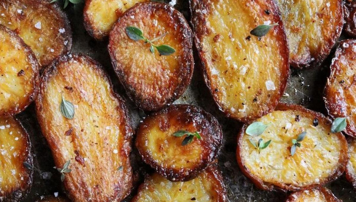 公布最容易让人吃上瘾的烤马铃薯!咸甜适中完美的脆皮,原来需要加这些!