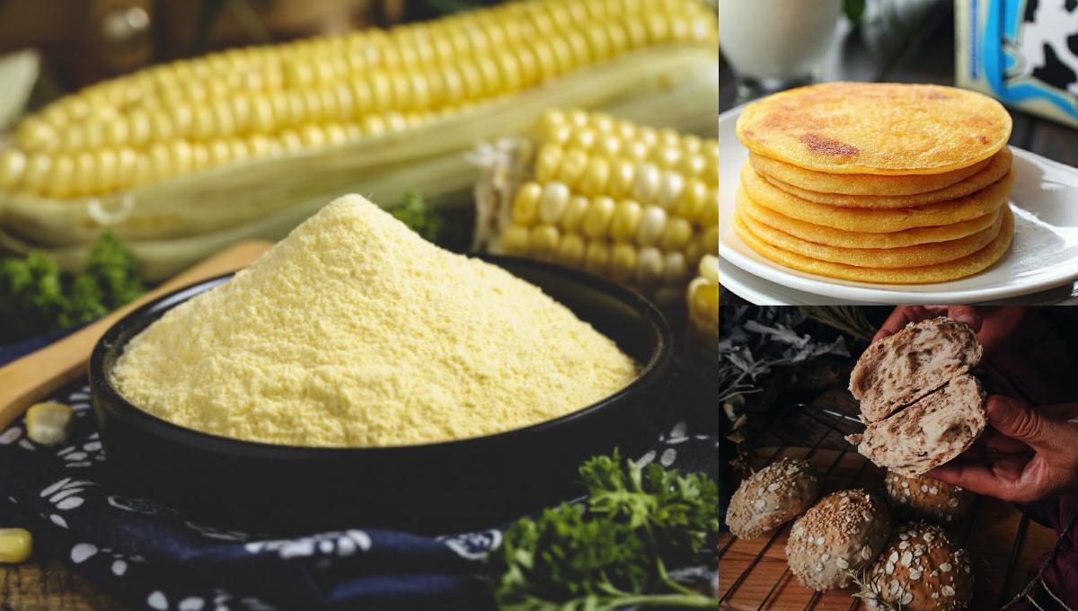 【1包玉米粉可以做的8种糕饼和面包】低脂饱腹感强,快手早餐轻松搞定!