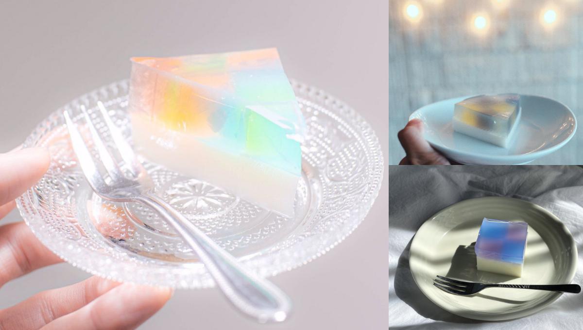 教你做唯美梦幻的日式彩虹蛋糕!情人节甜品宅家轻松自制!