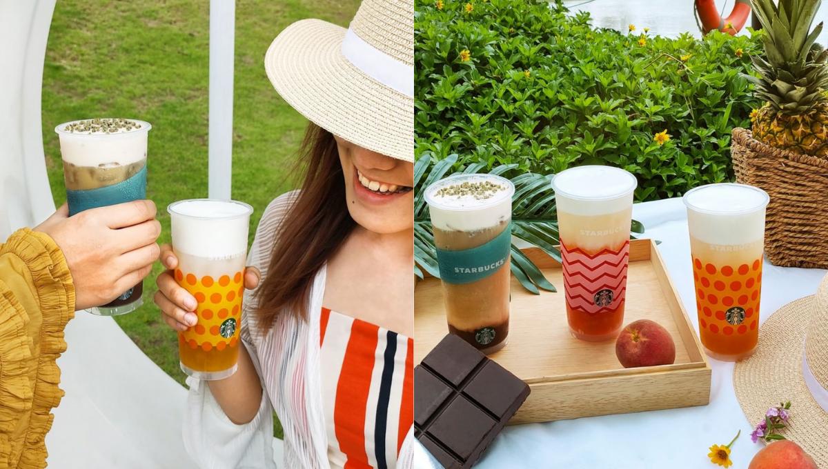 Starbucks推出最新口味的冷饮!乌龙茶、黄梨和桃子的惊喜碰撞绝不可错过!