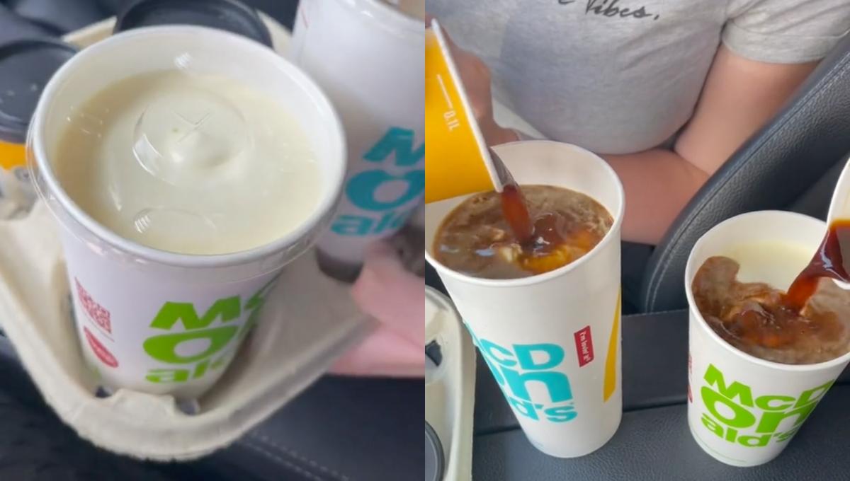 吃货分享McD冷饮的隐藏菜单!味道超惊艳,不是每个人有机会喝到!