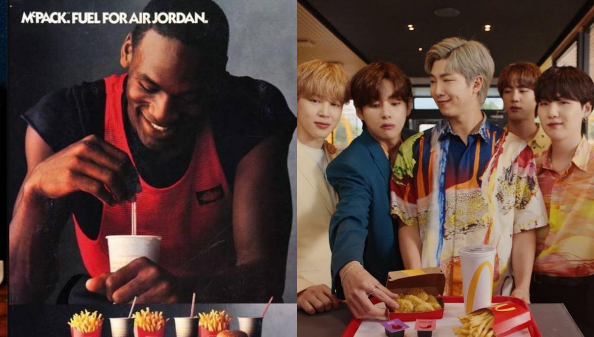 哪些名人曾和McD联名推出专属套餐?除了BTS,原来还有他们!