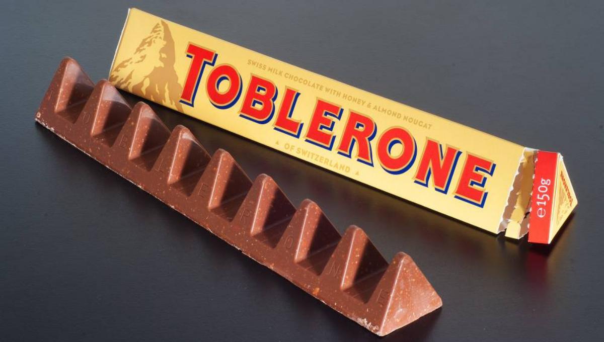 Toblerone的Logo原来不简单!设计中还隐藏着一个秘密!