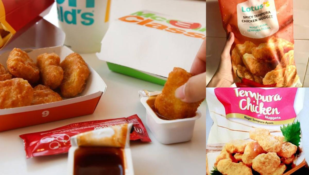 大马网友强力推荐「2个品牌的Nuggets」!味道竟然与McD一样?!