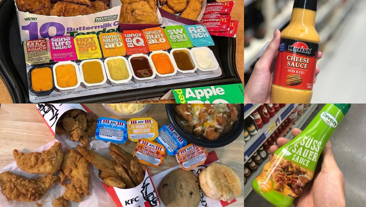超市也可以买到「这4种快餐店同款的酱料」!用超便宜的价格就可以买到一大支!