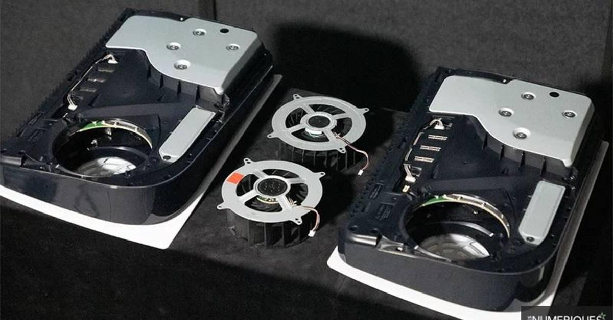 原来PS5散热器还有分成两种?拆机才发现原来这款散热器比较好!