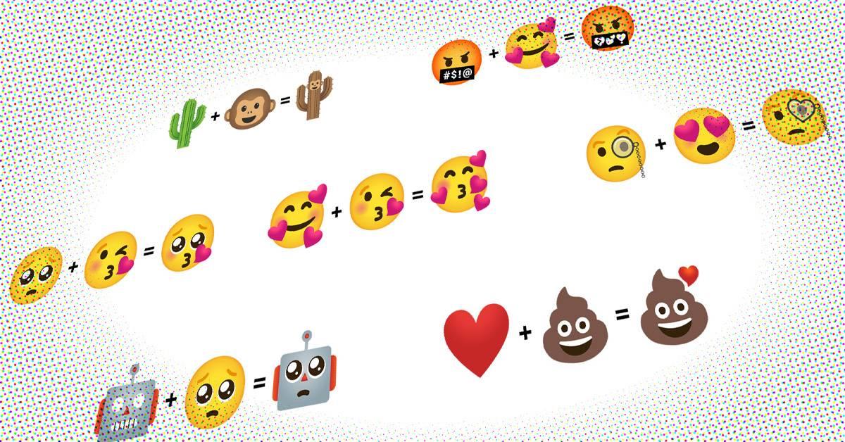 2个emoji加起来就能变成新的表情?Gboard更新Emoji Kitchen功能!