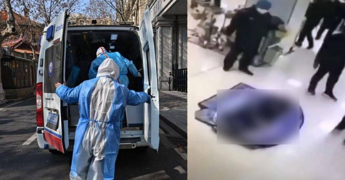 新冠肺炎离世患者尸体几个装一起!孩童衣服被掀,保安心痛整理后继续工作!