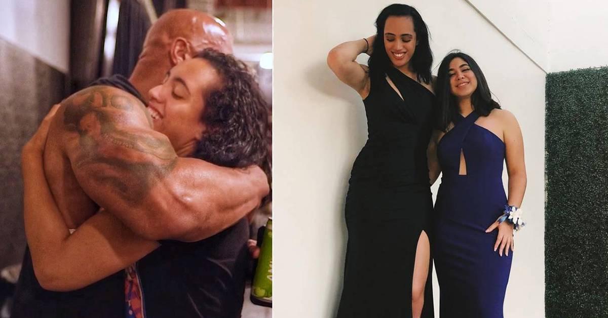 "The Rock女儿继承""父业""!签约WWE摔角Man到爆!"