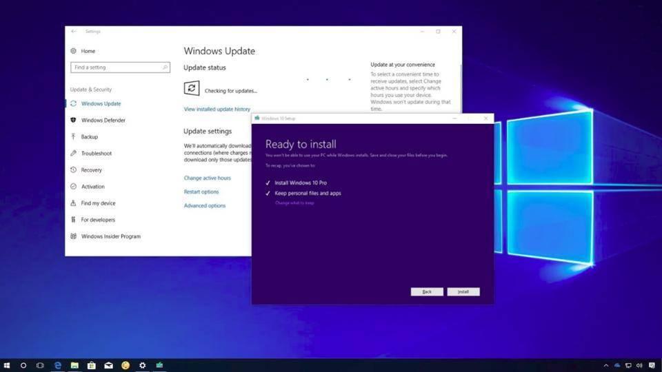 Windows 10更新出现问题!重设桌面,电脑还冻住不动!