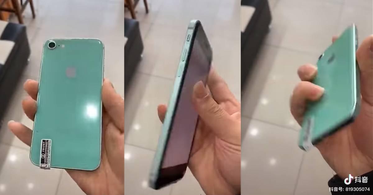 疑似iPhone 9上手视频曝光!全新薄荷绿配色深深吸引着苹果用户?!
