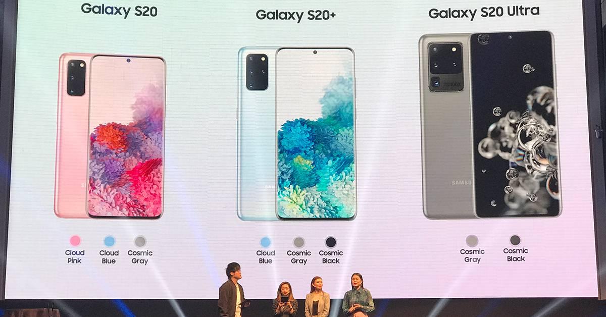 Samsung Galaxy S20系列3月6日开卖!Roadshow将赠4K电视、无线充电板等礼品!售价RM3599起!