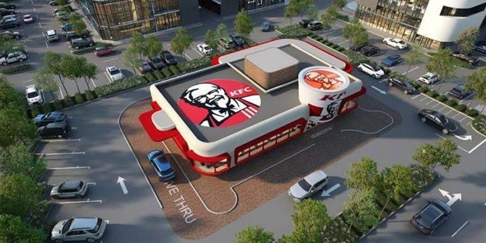 大马美式复古快餐店KFC正在建着!网民:巴生又有一个打卡地点啦!
