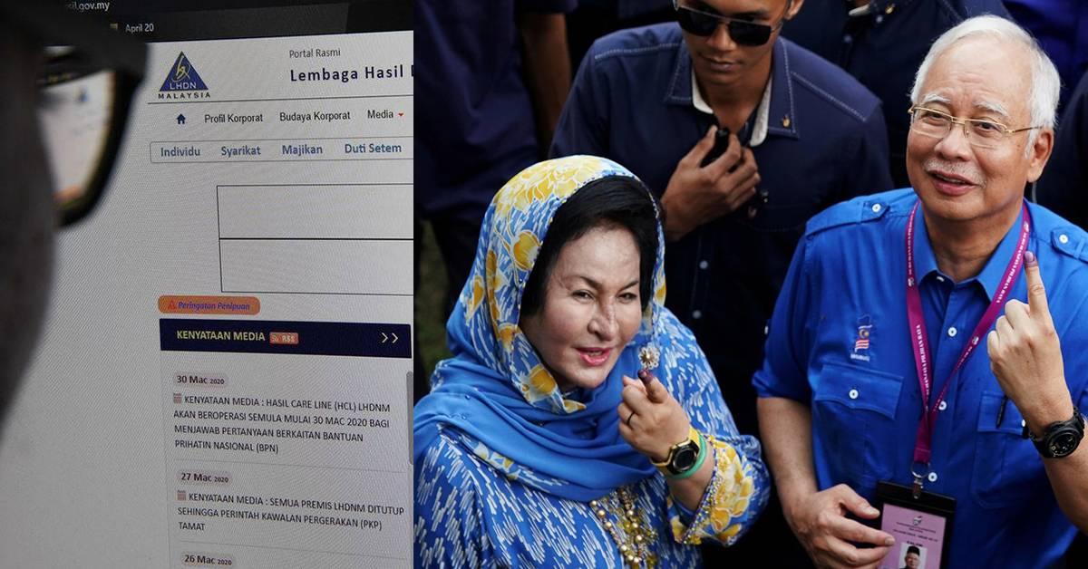 收入低于RM2000单身人士的援助金,前首相夫人Rosmah竟然拿得到!