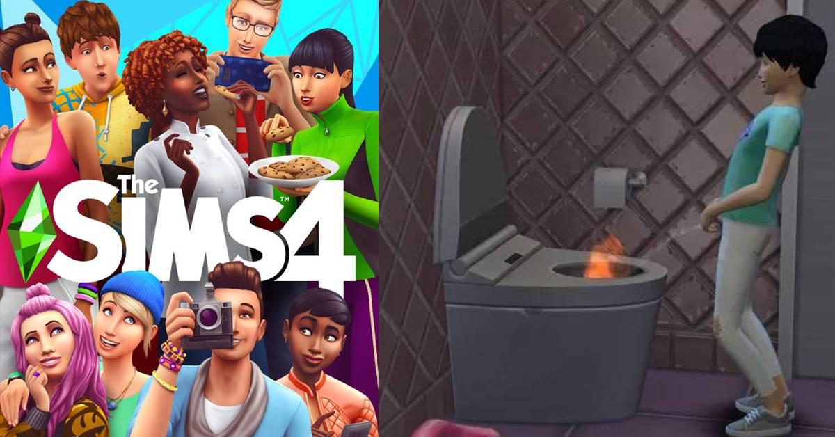 一小便就把厕所烧了!《The Sims 4》出现惊人 Bug?!