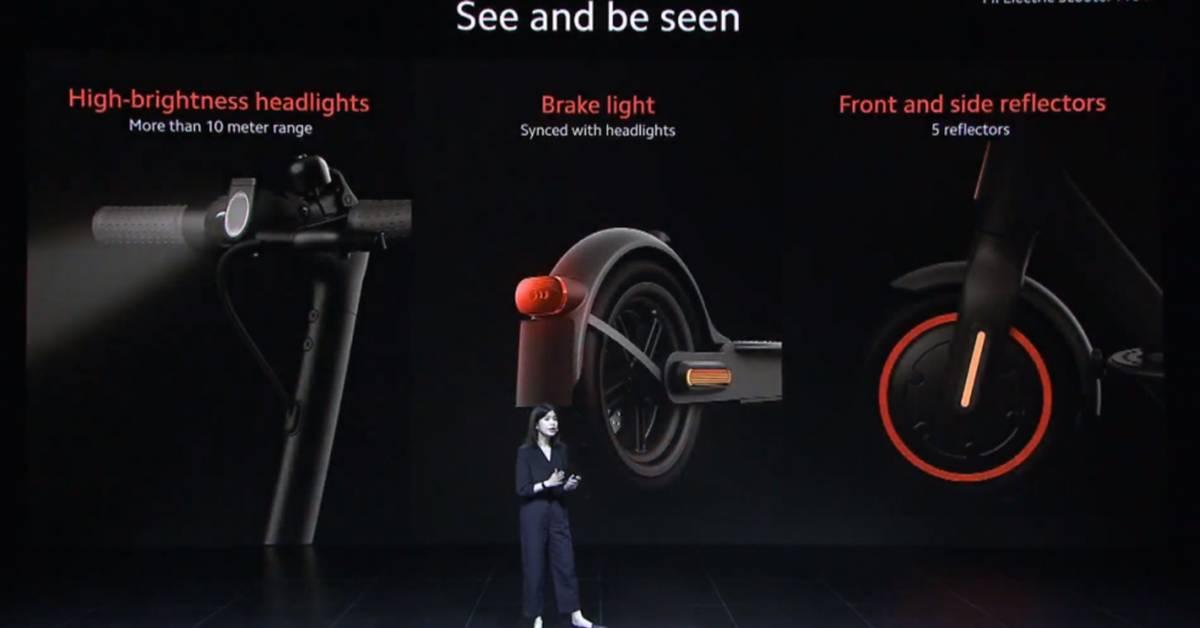 小米第二代Mi Electric Scooter面世!更远的距离,行驶更安全!