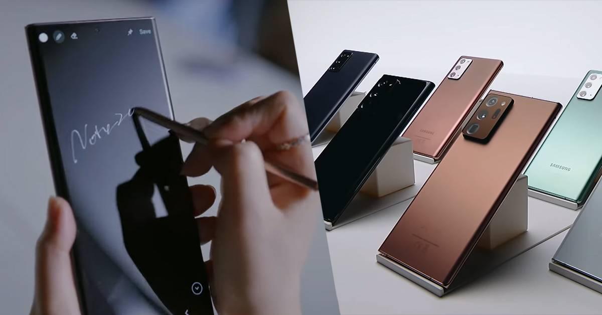 新Note 20的S Pen有多厉害?看完绝对吓死你!
