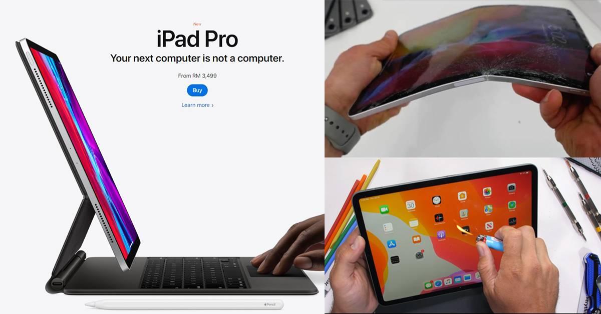 实测2020款iPad Pro致命伤还在!一掰就脆:像饼干一样?!