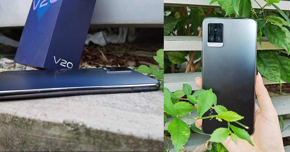 【Review一下下】机身设计时尚感十足!vivo V20上手开箱星空渐变蓝盒子好高级!