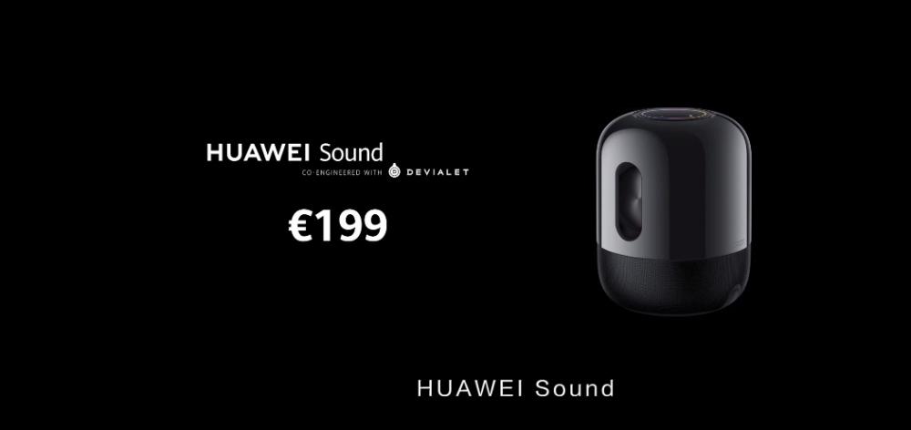 联手帝瓦雷再推Huawei Sound!音质再度升级,售价RM975!