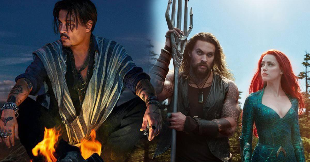华纳急速切割Johnny Depp不公平?《Aquaman 2》不换女主,影迷喊话罢看!