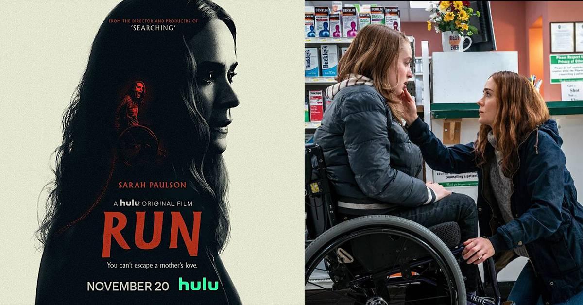 【观后感】史上第二位轮椅使用者主演的惊悚片!《Run》可惜没让Sarah Paulson发挥吓人气质?