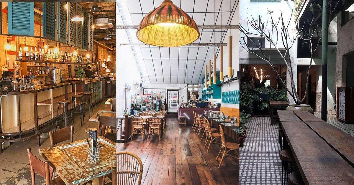 【茨厂街5大必去复古风咖啡馆】老旧年代感爆灯,中西合璧美食让人无法抗拒!