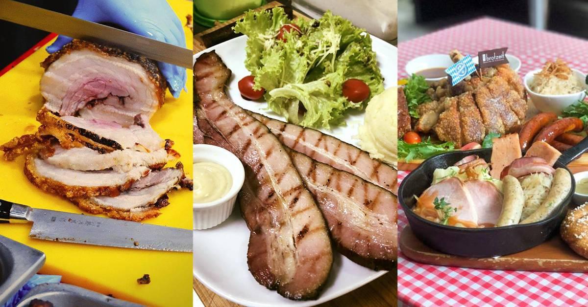【雪隆区专卖猪肉料理的餐厅】中西欧泰式都有,简直是肉食吃货们的天堂!