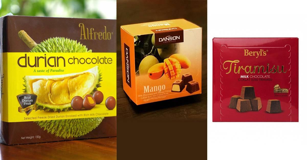外国人眼中必买的10大马来西亚巧克力排行榜!Beryl's Tiramisu才排第三?!