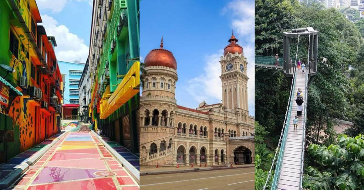 搭LRT或MRT即可到达!吉隆坡5个必去拍照打卡的地点,不出国也能用美照刷爆IG!