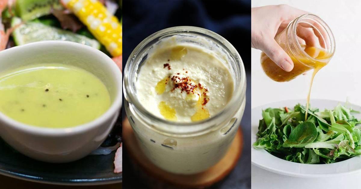 【大马人超爱的低脂沙拉酱调配法】减肥期间也不亏待自己,内附卡路里!