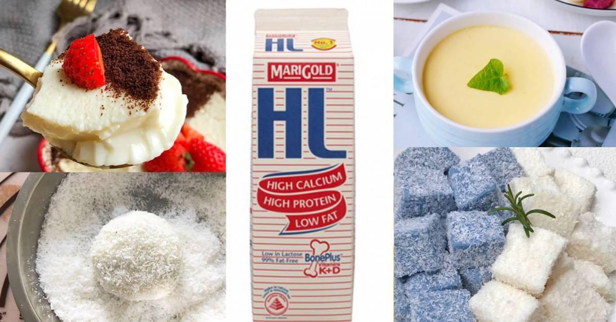 【HL牛奶可制成的8款高颜值甜品】做法简单无难度,每一款都入口即化!