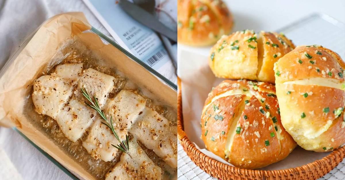 【超简单的蒜味料理做法】必学近期超火的蒜香奶酪面包!