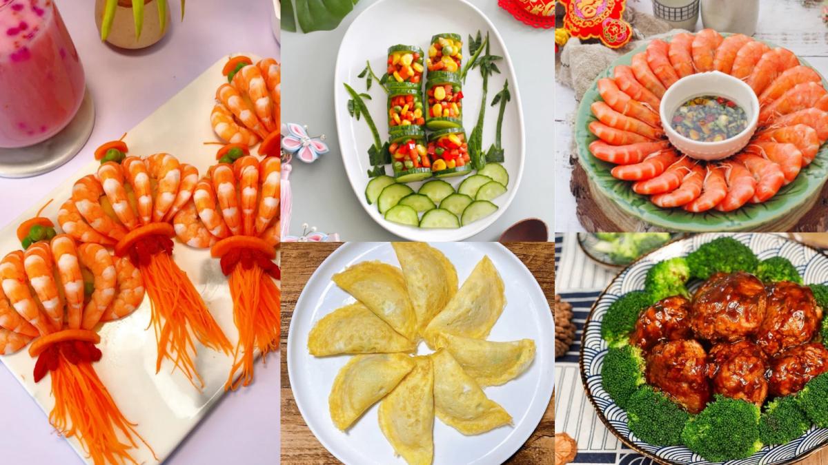 【8款创意年夜菜做法】每一道都象征好意头,食谱赶紧Get起来!