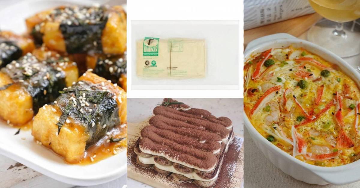 【老豆腐能做成的料理食谱】煎烤焖炒都行,香气十足还十分暖胃!