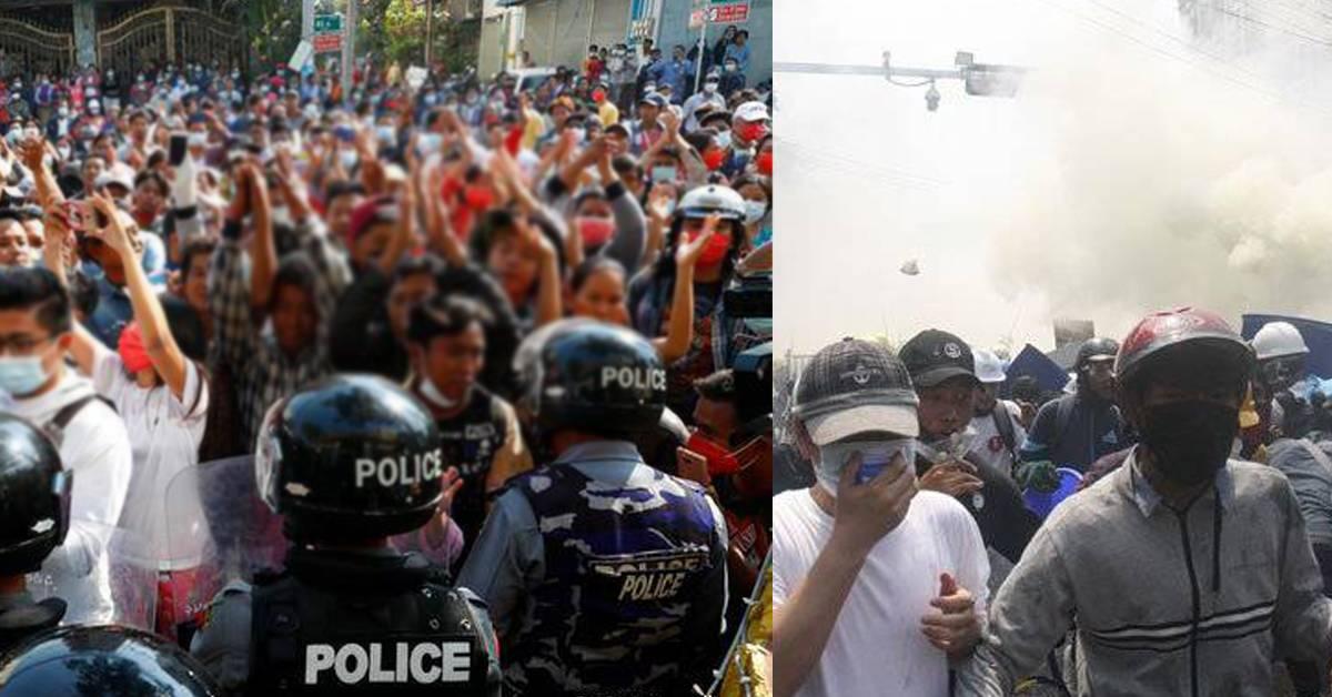 【缅甸动乱】规模升级!多名前线采访记者被逮捕,1人家中遭军方突击!