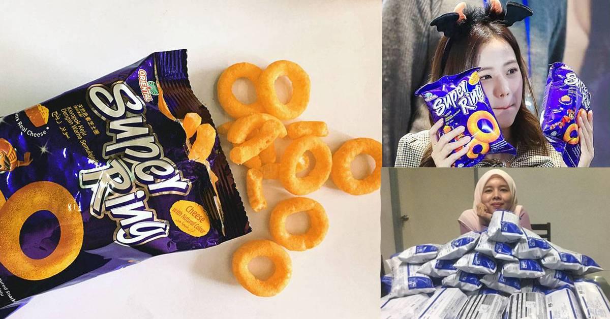 童年零食Super Ring的6大冷知识!用的都是纯天然色素,一包可卖RM50!