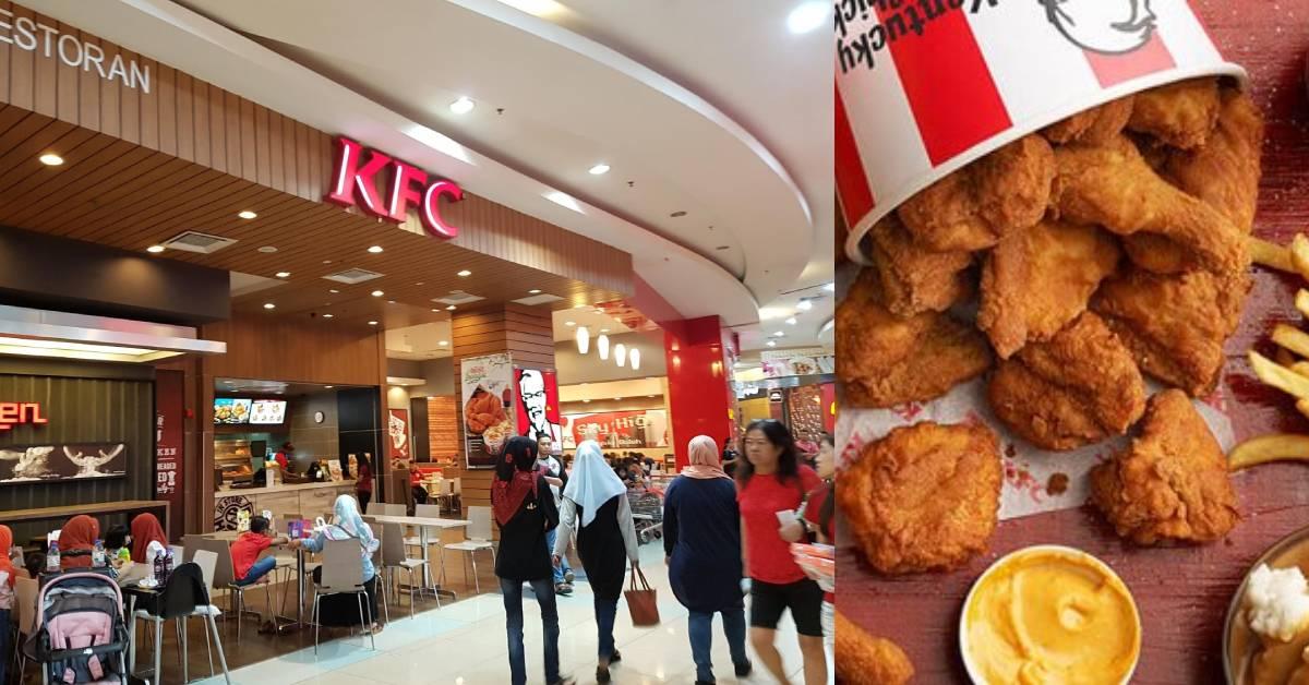 大马人小时候不敢到KFC柜台点餐的5大原因!99%的人第一个就中了!