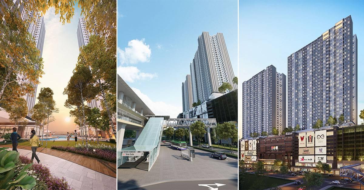 【全新Cheras笋盘!】住在市中心只需RM380k*起!通有盖行人天桥步行100米到MRT站!