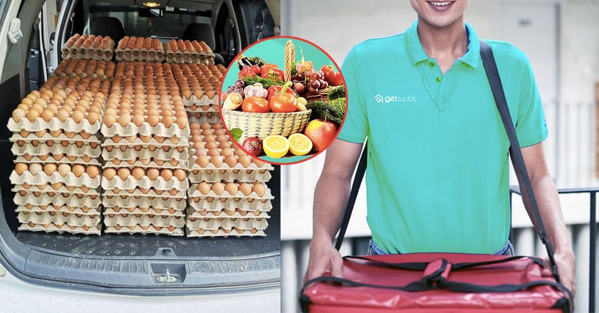 分享出去!PJ和Damansara人不用冒险出门买菜了!GetSupply帮你把多达18种新鲜食材送上门!
